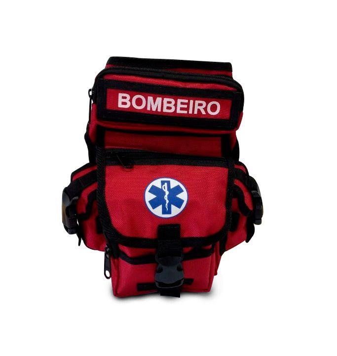 Bornal Para Bombeiro Cor Vermelha SAVE APH
