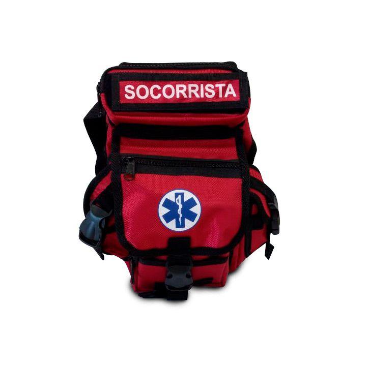 Bornal Para Socorrista Cor Vermelha SAVE APH