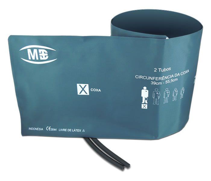 Braçadeira 2 tubos Coxa Livre de látex MD