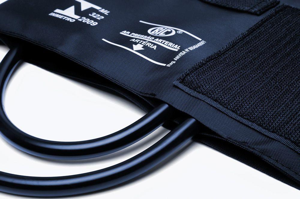 Braçadeira Adulto Nylon Velcro BR1609Q Azul BIC