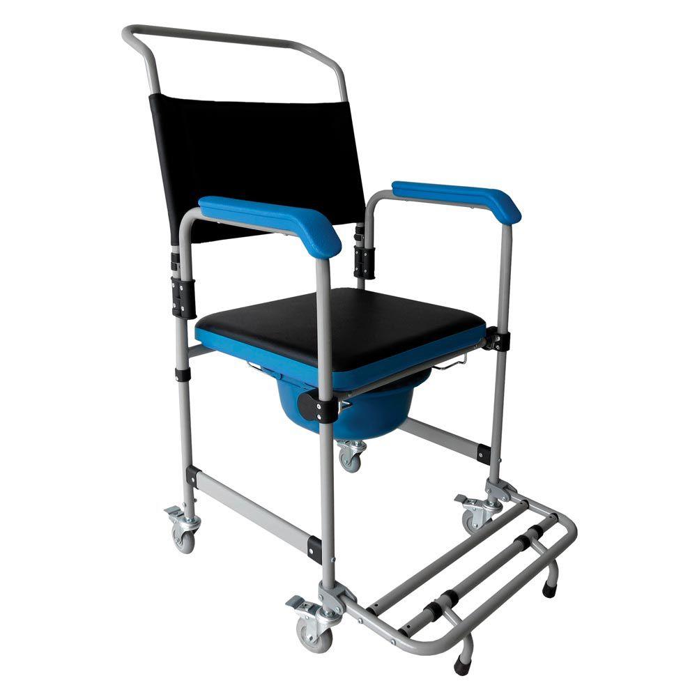 Cadeira de Banho D50 Aço DELLAMED