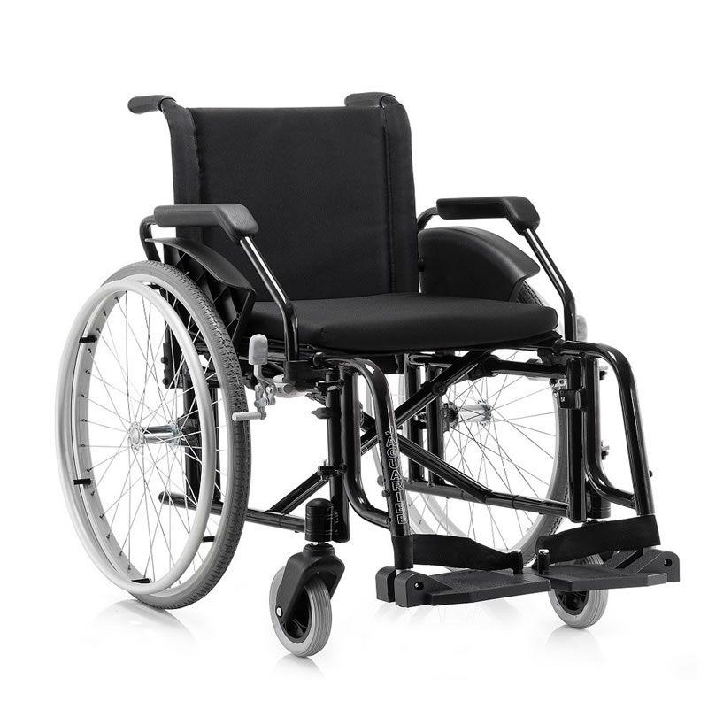 Cadeira De Rodas FIT 44 Preta Jaguaribe