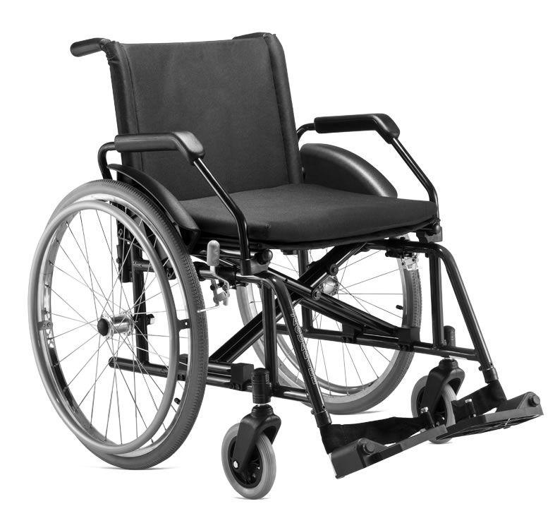 Cadeira De Rodas Poty Preta Jaguaribe