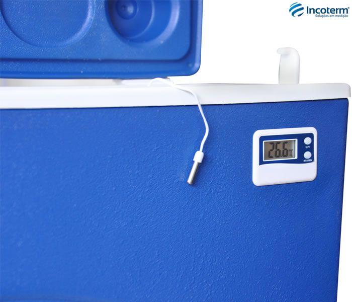 Caixa Térmica Com Termômetro Digital 15 Litros Incoterm