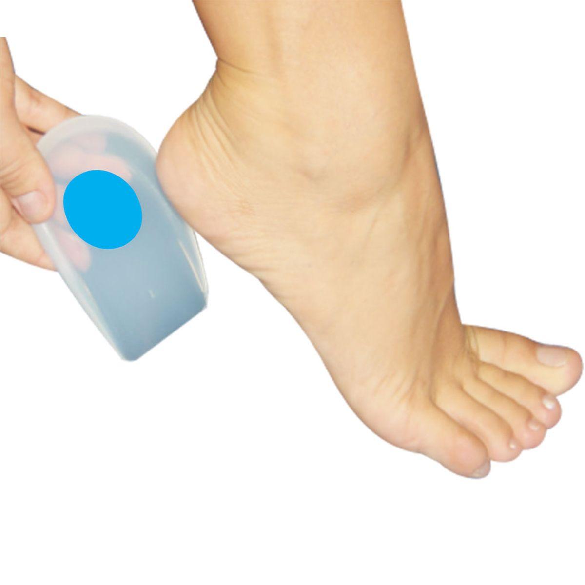 Calcanheira Esporão C/ Ponto Azul  G  Action Sport Ortho Pauher