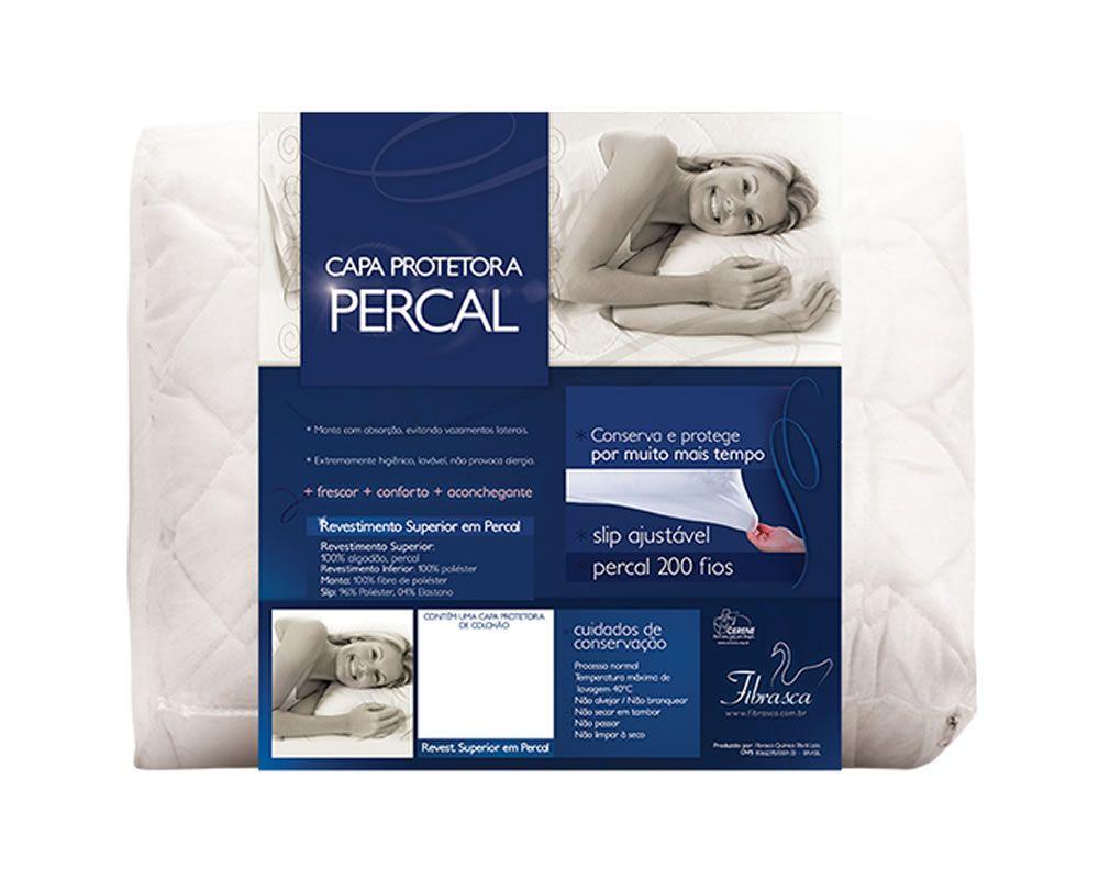 Capa P/ Travesseiro Percal Plus 3195 Fibrasca