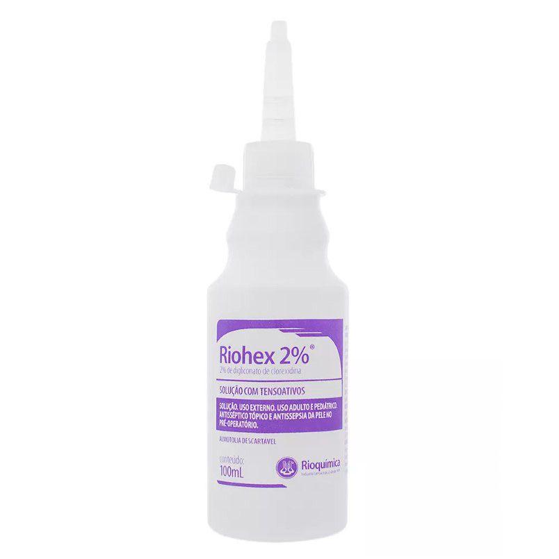 Clorexidina 2% 100mL Riohex Degermante Rioquímica