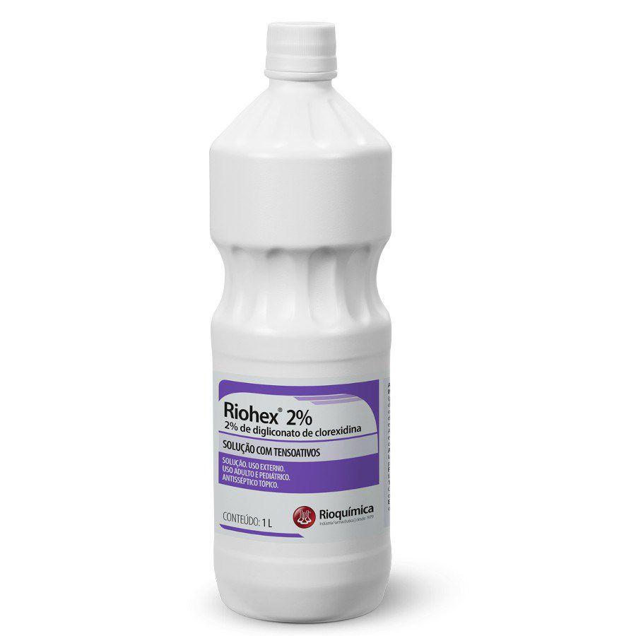 Clorexidina 2% 1L Riohex Degermante Rioquímica