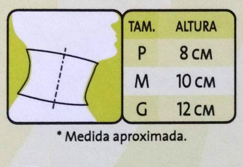 Colar Cervical Espuma Tam. M Azul Mercur