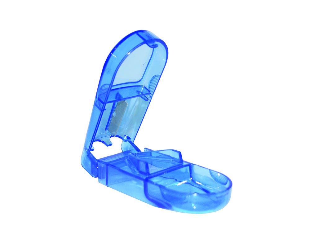 Cortador De Comprimido Azul CP0001 Incoterm