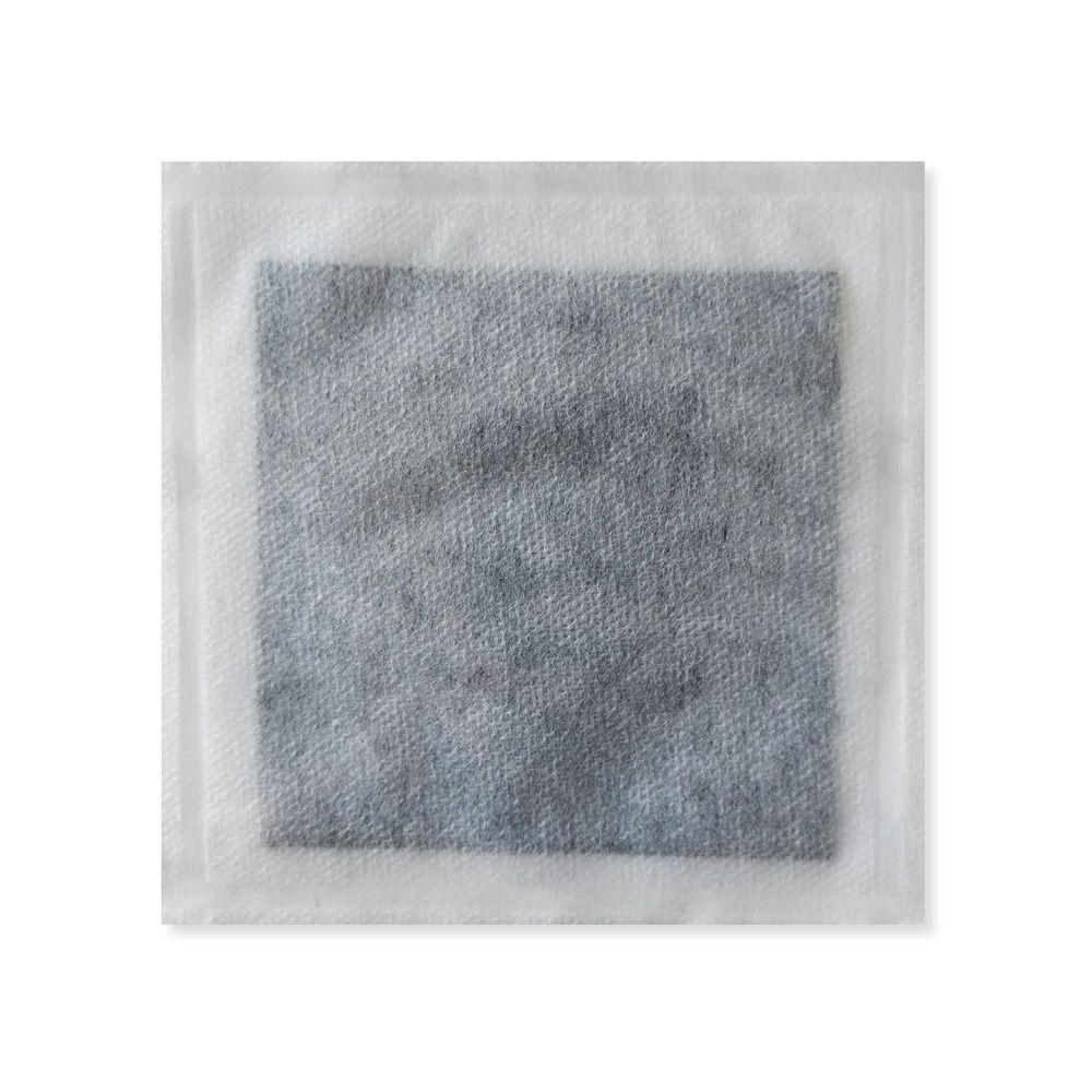 Curativo De Carvão Ativado Com Prata 10,5x10,5cm Unidade Curatec