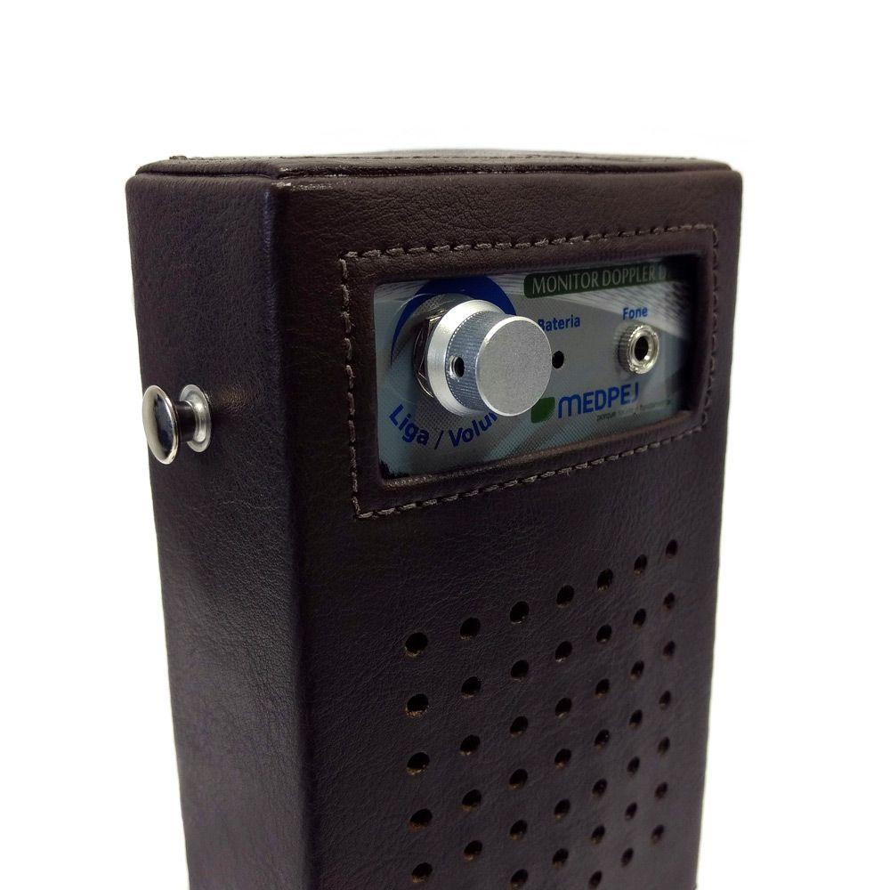 Detector Fetal Portátil DF-7001 B Marrom Medpej