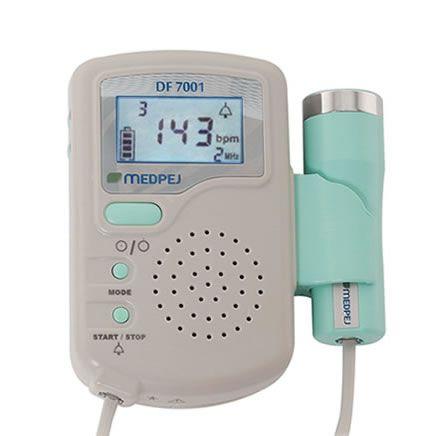 Detector Fetal Portátil Mod. DF-7001 D Verde - Medpej