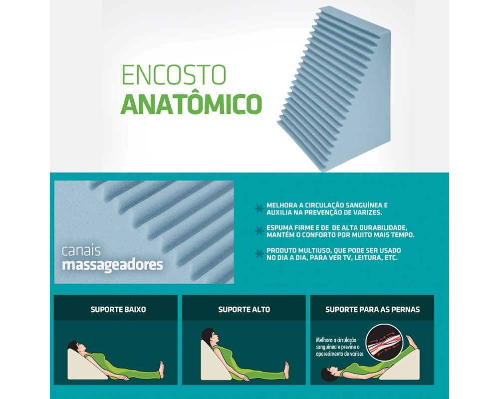 Encosto Anatômico WC2014 Fibrasca