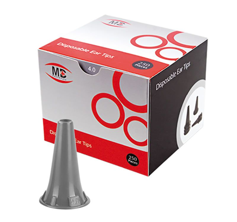 Espéculo p/ Otoscópio OMNI 3000 4,0mm cx/ c/ 250un. MD