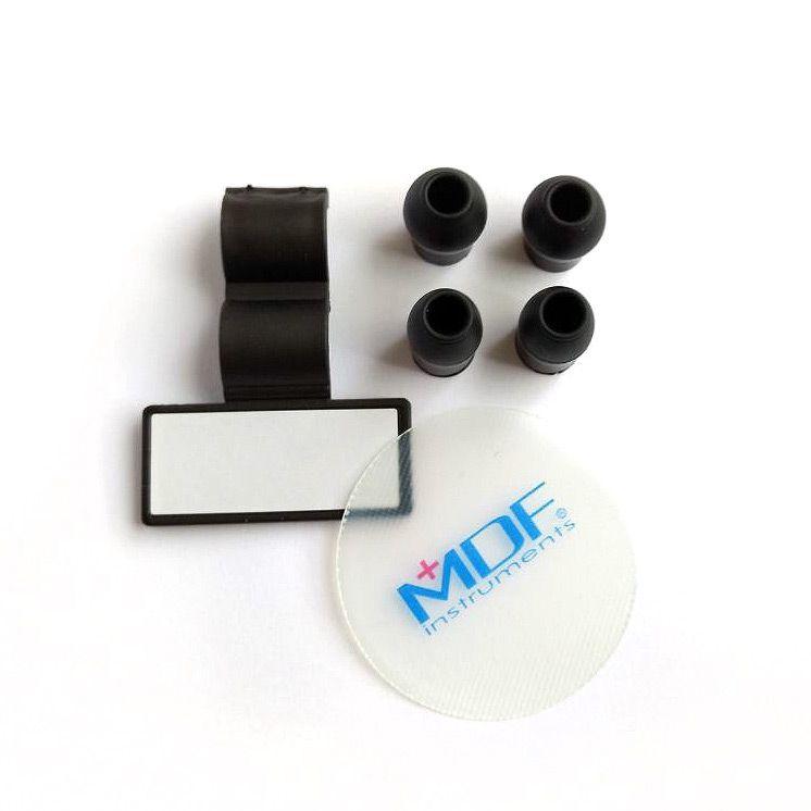 Estetoscópio Aço Inox Duplo MD One All Black MDF