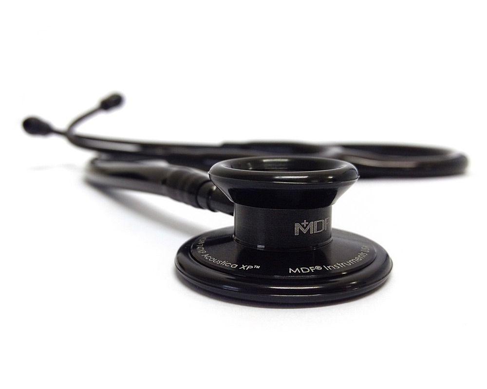Estetoscópio Acoustica® Deluxe Duplo All Black MDF