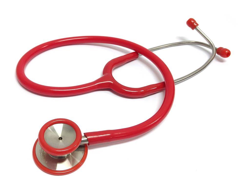 Estetoscópio Clínico Vermelho Incoterm