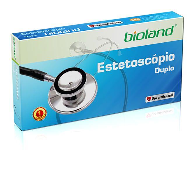 ESTETOSCÓPIO DUPLO COLORIDO VERDE E100D BIOLAND