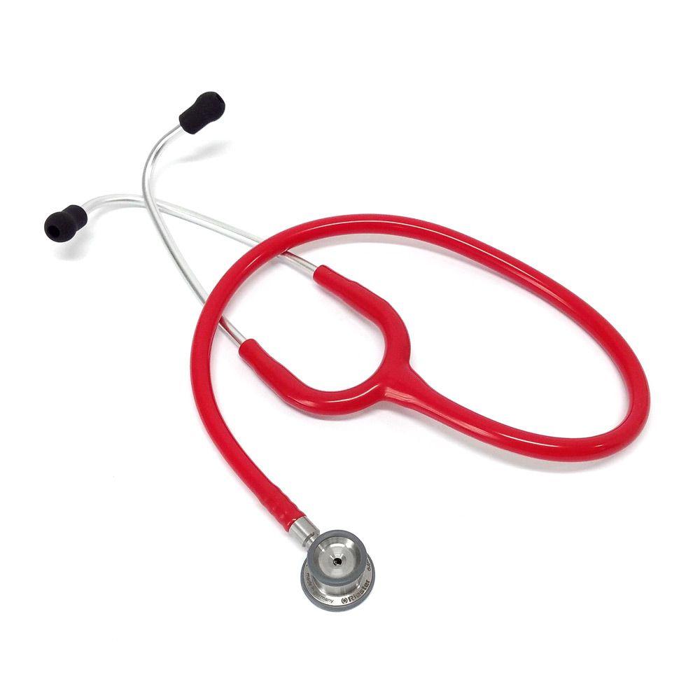 Estetoscópio Neonatal Duplex 2.0 Aço Inox Vermelho Riester
