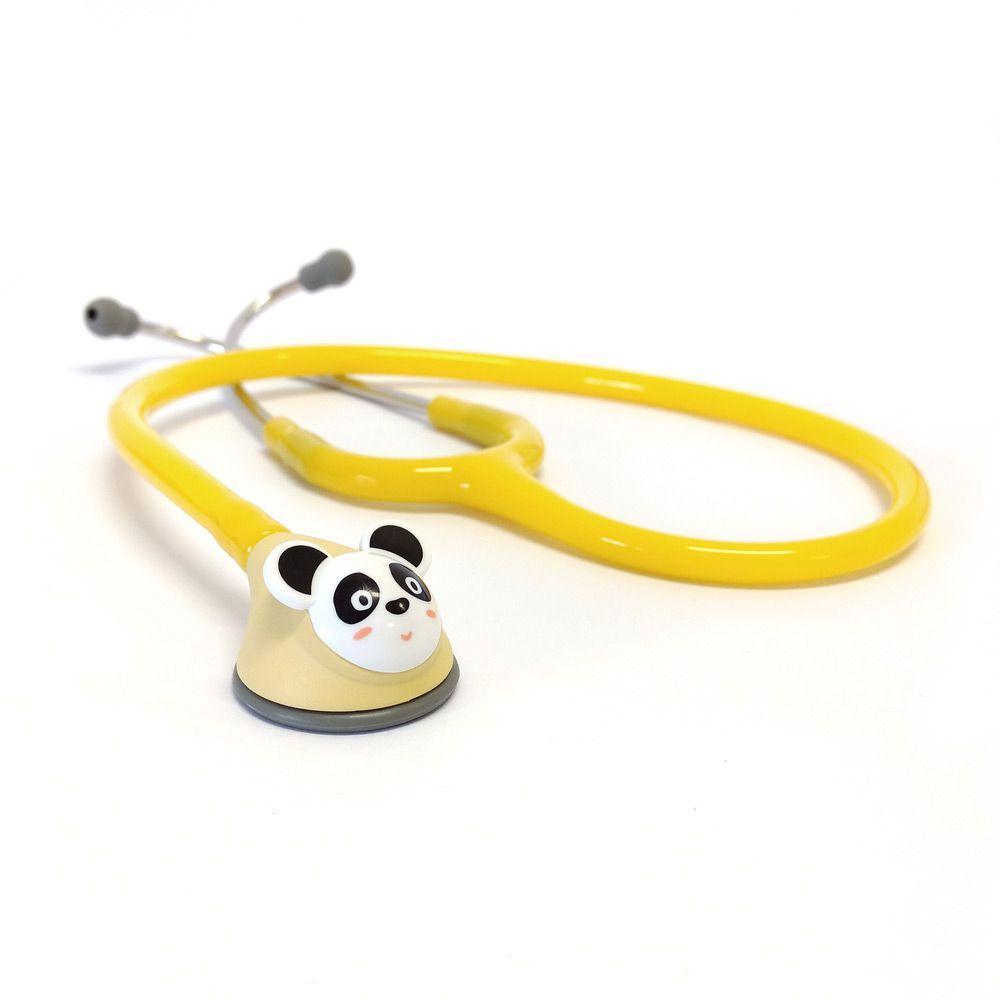 Estetoscópio Pediátrico Fun-Animal Amarelo Spirit