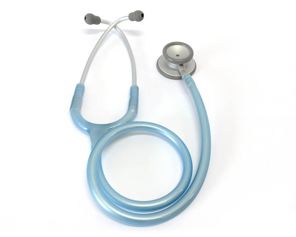Estetoscópio Pro-Lite Azul Claro Perolizado Spirit
