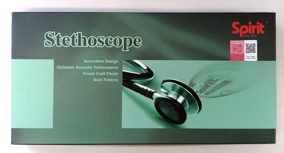 Estetoscópio Professional Adulto Verde Escuro Spirit