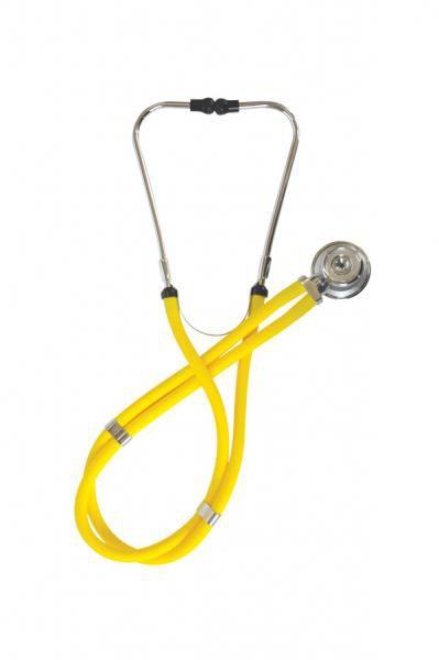 Estetoscópio Rappaport ER100 Amarelo Incoterm