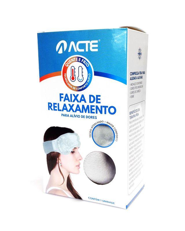 Faixa Para Relaxamento Quente/Frio R4 Acte