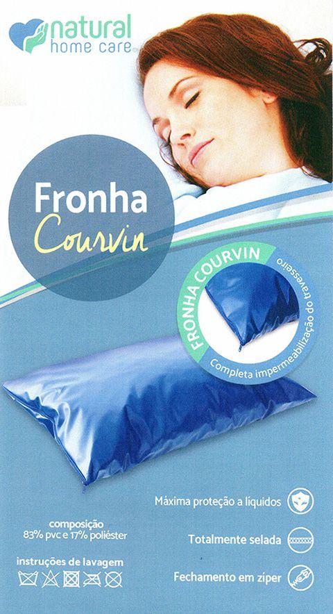 Fronha De Courvin Com Zíper NHC
