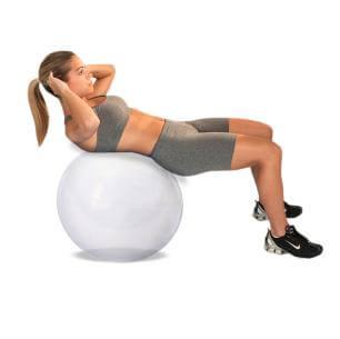 Bola Suiça Gym Ball 65cm Transparente Acte