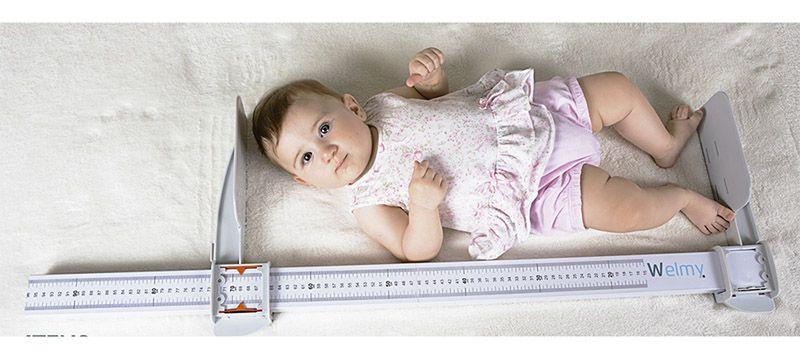 Infantômetro Portátil Horizontal 63226 Welmy