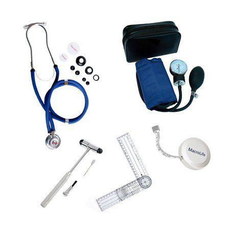 Kit Acadêmico Fisioterapia Azul