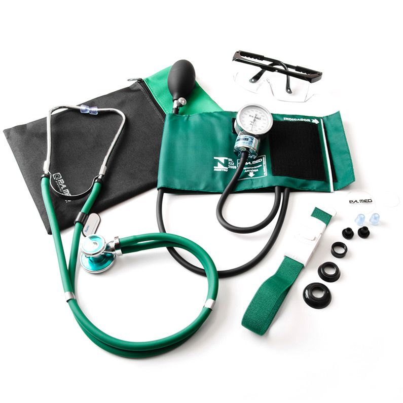 Kit Acadêmico Verde P.A. MED