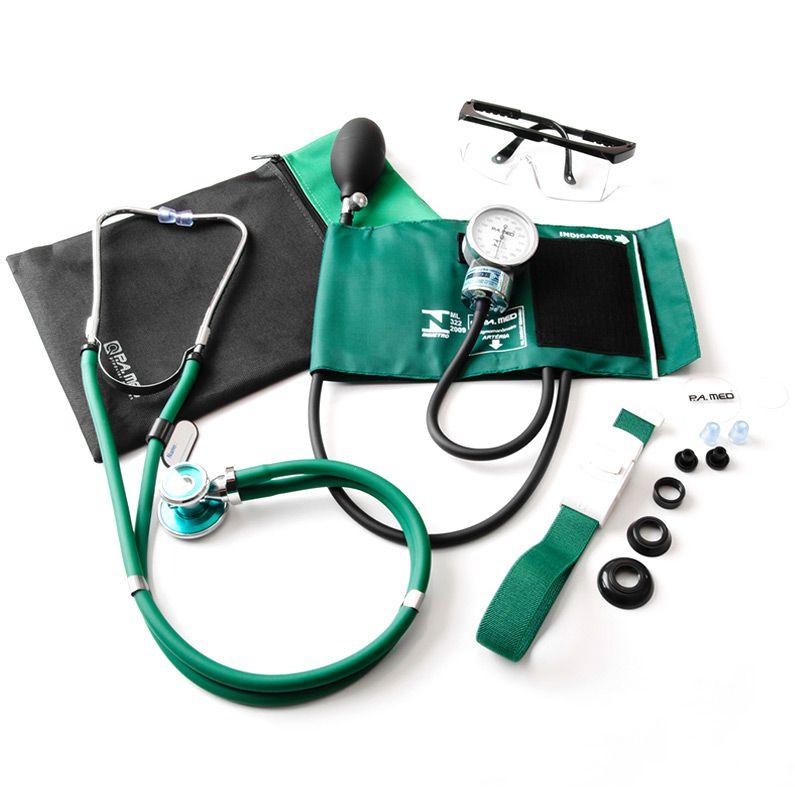 Kit Acadêmico Verde c/5 itens P.A.MED
