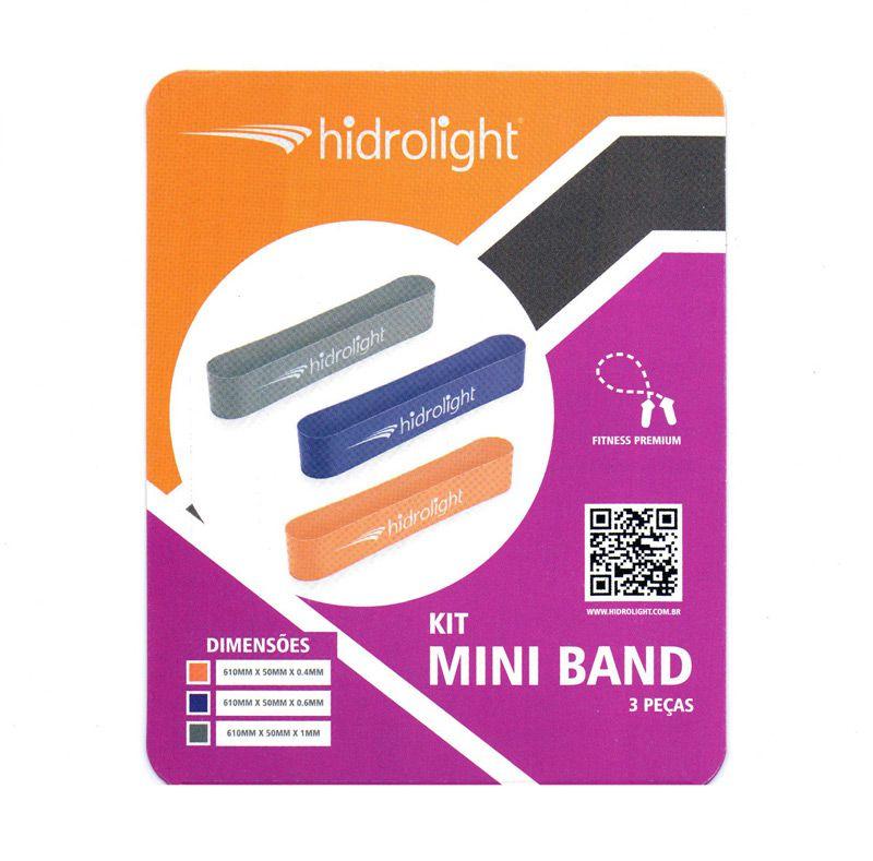 Kit Mini Band 3 Peças Hidrolight