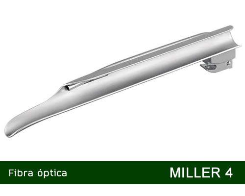 Lâmina Laringoscópio Fibra Óptica Miller Nº4 MD