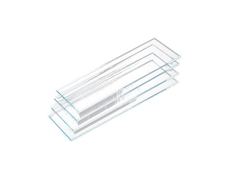 Lâmina Para Microscópio Lisa 26x76mm Caixa C/ 50 Un. Vision Glass