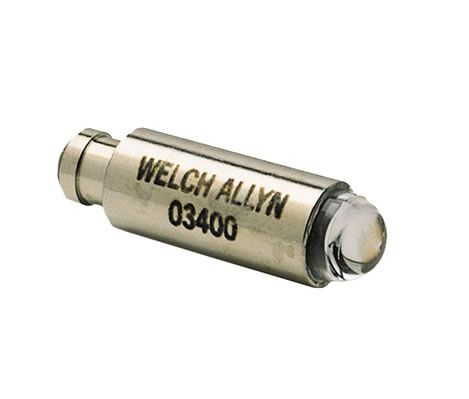 Lâmpada Halógena 2,5V 3400-U P/ Otoscópio Pocket Welch Allyn