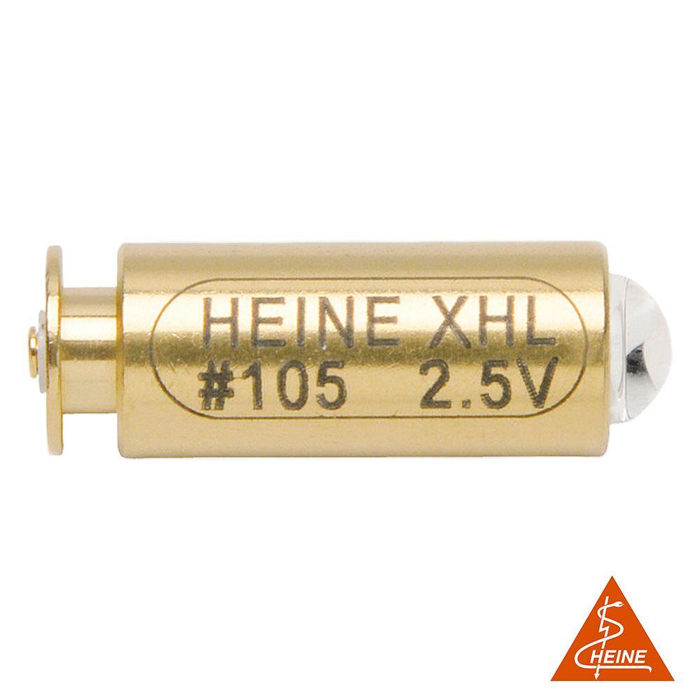 Lâmpada Halógena Xenon XHL #105 2,5V Heine