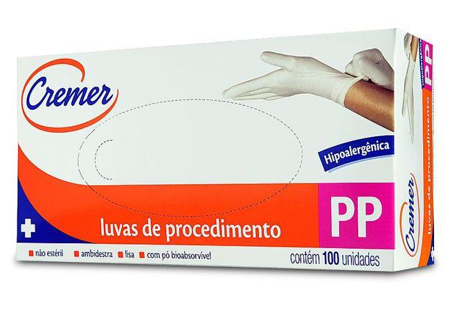 Luvas De Procedimento PP C/ 100 Un. Cremer