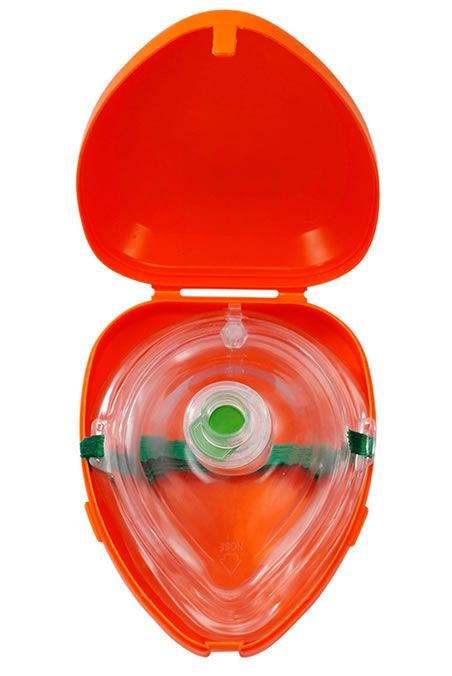 Máscara Pocket Para RCP Ressucitador Headstar MD