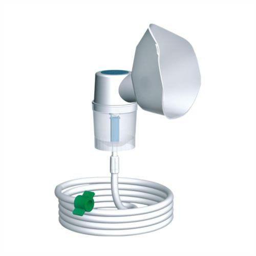 Micronebulizador Para Oxigênio Conjunto Adulto Verde NS