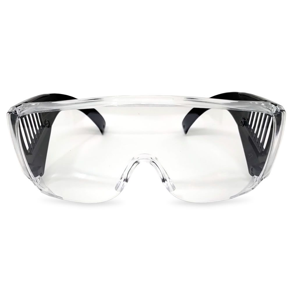 Óculos De Proteção Pro-Vision II Incolor Carbografite