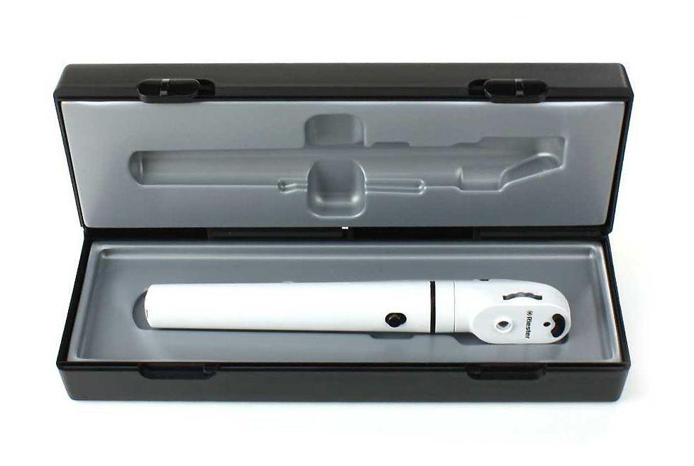 Oftalmoscópio E-Scope LED Branco Riester