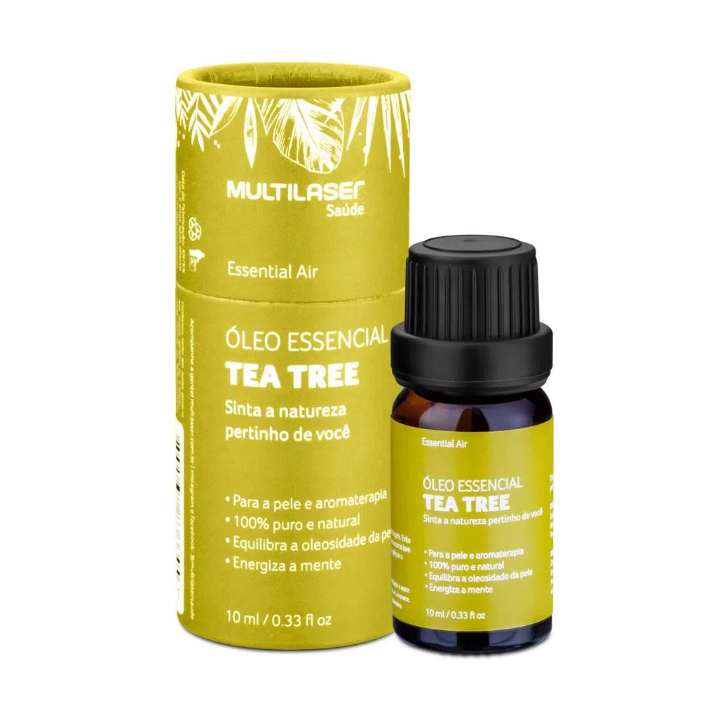 Óleo Essencial de Tea Tree - Curar 10mL HC127 Multilaser
