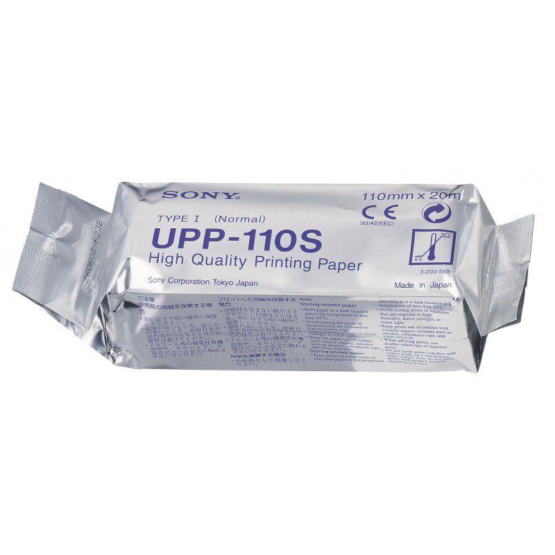 Papel UPP-110S Para Impressora De Vídeo/Ultrassom Rolo Sony