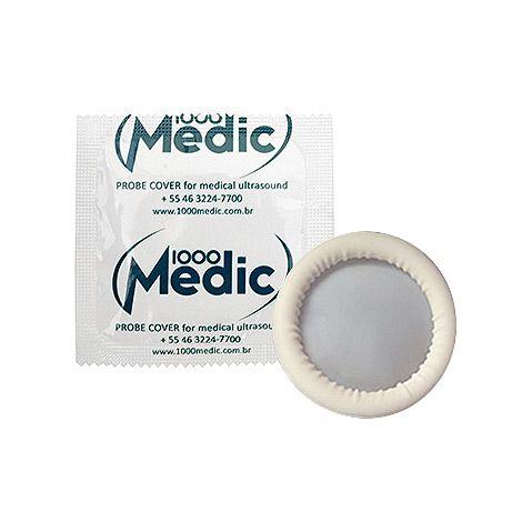 Protetor de Sonda p/ Ultrassonografia c/ 144 Un. Probe Cover 1000Medic