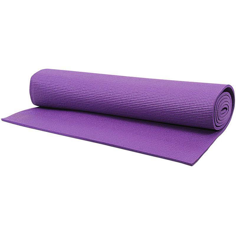 Tapete Para Yoga Mat 172x61cm Roxo Acte