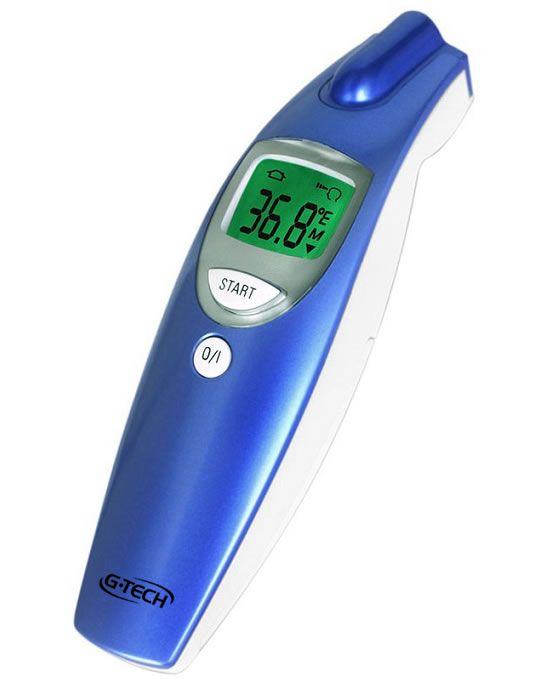 Termômetro Clínico Digital De Testa Sem Contato G-Tech
